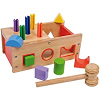 Legler Preschool Yoy: Wooden Hammer and Plug shapes set