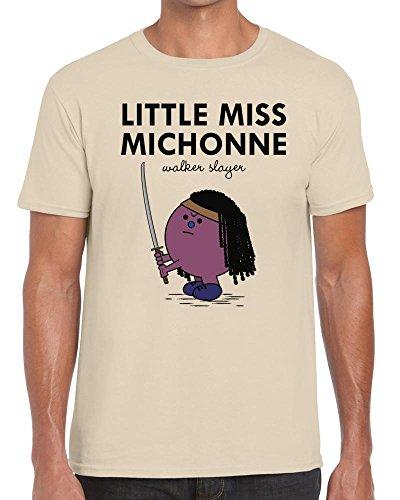 Funky NE Ltd Little Miss Michonne - Walking Dead/Little Miss Tshirt - 100% Cotton - Small to XXL - 4 Colours - Great Gift Idea by