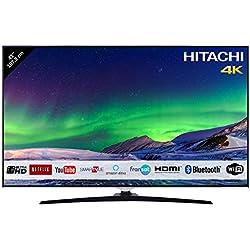 "Hitachi Téléviseur LED 43"" 107,9cm 4K Ultra HD Alexa/Smart TV: Netflix, Youtube, Prime/WiFi Ethernet/BT / 3 HDMI / 2 USB"