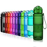 ZOUNICH Sport Leakproof Water Bottle Bpa Free Tritan Plastic Drinking Bottles 400ml/500ml/700ml/1L