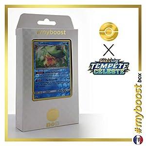 Ludicolo 38/168 Holo Reverse - #myboost X Soleil & Lune 7 Tempête Céleste - Box de 10 Cartas Pokémon Francés
