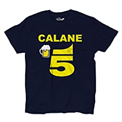 Idea Regalo - KiarenzaFD Maglietta T-Shirt Uomo Trash Parodia Canale Calane 5 Birra Televisione Programma