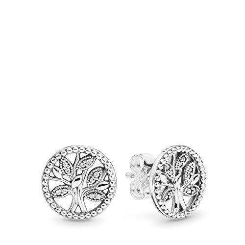 Orecchini in argento sterling con albero della vita
