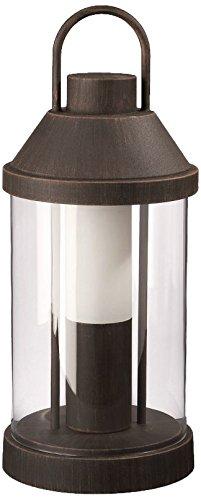 Massive-Lampe de Table 16225/86/10-éclairage en plein air (table Fluorescent courant alternatif E27 blanc chaud,) Marron