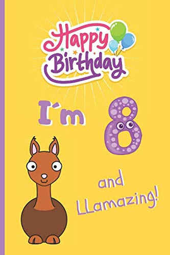 IM 8 AND LLAMAZING 6 X 9 LINED NOTEBOOK 120