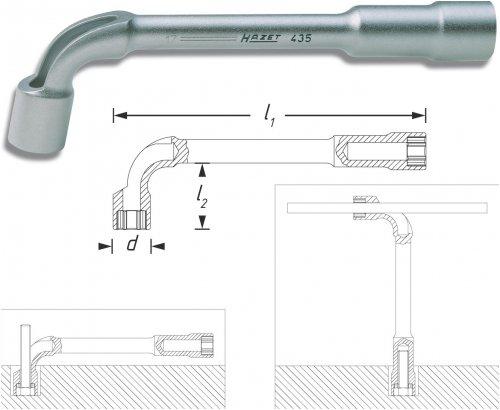 Preisvergleich Produktbild HAZET 435-24 6Kt.-Pfeifenkopfschluessel