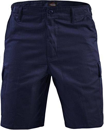 normani Kurze Bermuda Shorts US Army Ranger Feldhose Arbeitshose verschiedene Farben S - XXXL? Farbe Navy Größe XXL