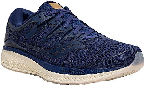 Saucony Men Triumph Iso 5 Neutral Running Shoe Running Shoes Dark Blue - Dark Grey 7