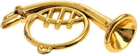 KESOTO Miniature InstruHommes ts de Musique en t Laiton OrneHommes t en Rétro Accessoires de Poupées B07JM2VR3T 7591c6