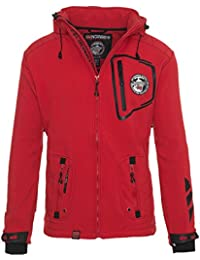 Geographical Norway Chaqueta técnica softshell para exterior, lluvia, deportiva
