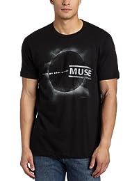 Muse - Black Eclipse Erwachsene Kurzarm T-Shirt in schwarz, Large, Black