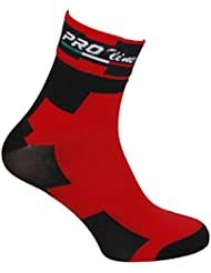 CALCETINES DE CICLISMO PROLINE TEAM BMC CYCLING SOCKS ONE SIZE 1 PAR