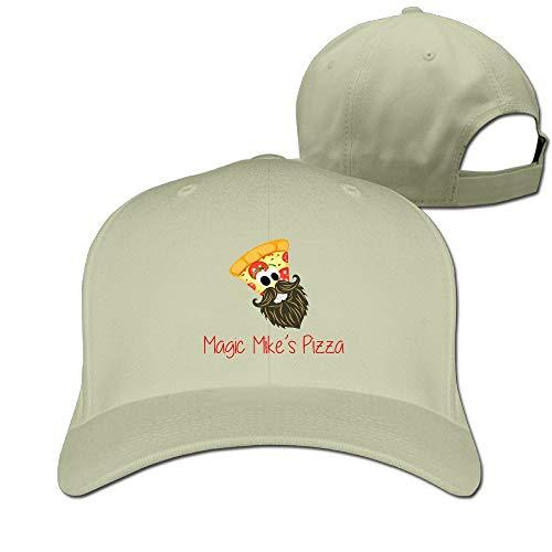 Pizza Grandpa Classic Pure Color Baseball Caps Unisex