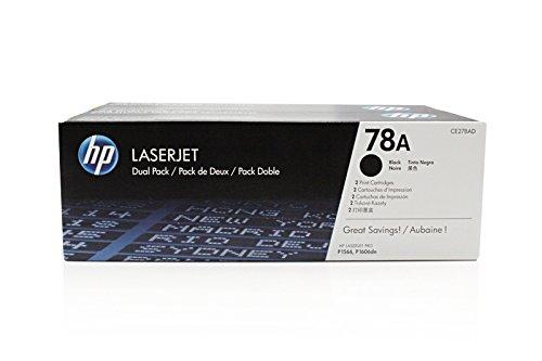 Preisvergleich Produktbild Original HP CE278AD / 78A Toner Black Doppelpack für HP LaserJet Pro P 1608 dn