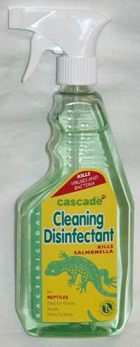 Cascada Reptil SEGURO Hábitat Comedero Desinfectante 500 ml