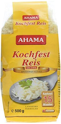 Ahama Langkorn Reis kochfest, 2er Pack (2 x 500 g)