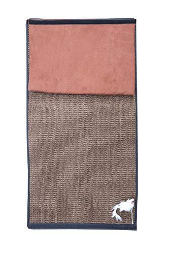 Supremery Katzen Kratzmatte Kratzschutz | Sisal Kratzteppich für Katze | Katzenkratzmatte