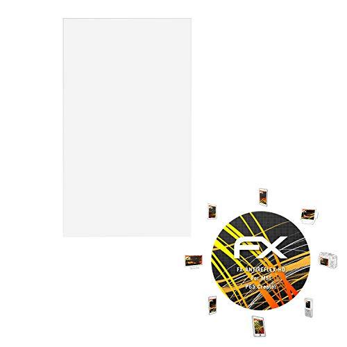 atFolix Schutzfolie kompatibel mit MSI P65 Creator Bildschirmschutzfolie, HD-Entspiegelung FX Folie (2X)