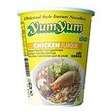 Cup Nudeln mit Chicken / Huhngeschmack - yumyum 70g