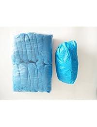 Azul CPE zapatos desechables \ fundas de botas (100 unidades) ...