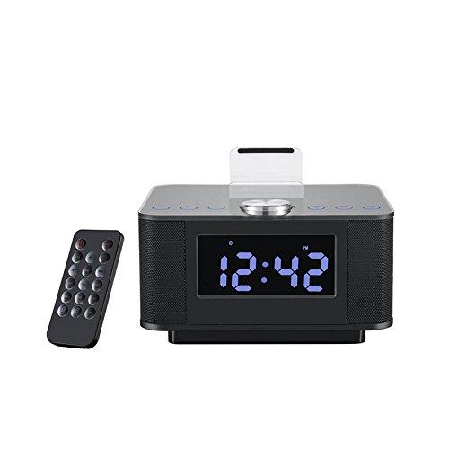 QQA Bedside Wecker FM Radio USB Telefon Aufladen Kann mit ipod/Iphone Bluetooth Hands-Free Anrufe Verbunden Werden