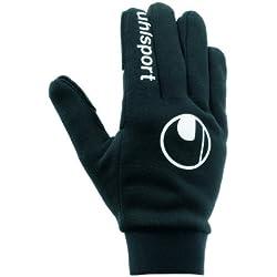Uhlsport Player'S Glove Guantes, Unisex niños, Negro, 8