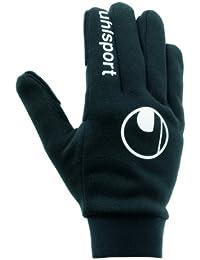 Uhlsport Player'S Glove Guantes, Unisex niños, Negro, 6
