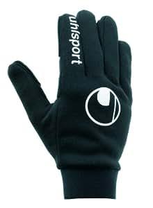 "Uhlsport Childrens Field Player Gloves - 5"", Black"