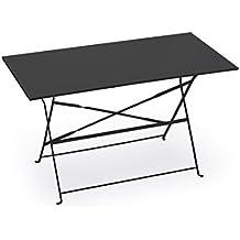 Tavolo Giardino Metallo Pieghevole.Amazon It Tavoli In Ferro Da Giardino