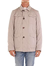 Schneiders Men s 712161445BEIGE Beige Cotton Outerwear Jacket 8274f674b2e