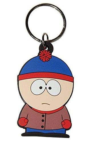 empireposter South Park - Stan - Gummi Schlüsselanhänger - Grösse ca. 5cm