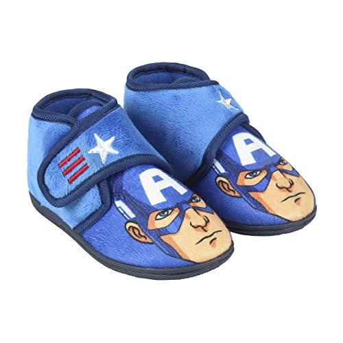 Avengers Capitán América - Zapatillas Estar casa