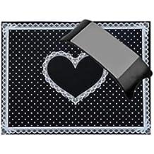 Aiming Clavo del corazón del Arte del cojín de la Mano de Silicona Soporte Amortiguador Tabla
