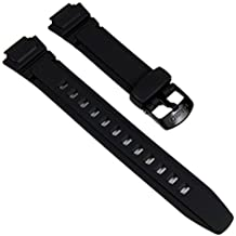 Genuine Casio Replacement Watch Strap 10212268 for Casio Watch W-213-1AVSW, AQ-180W-7BW + Other models