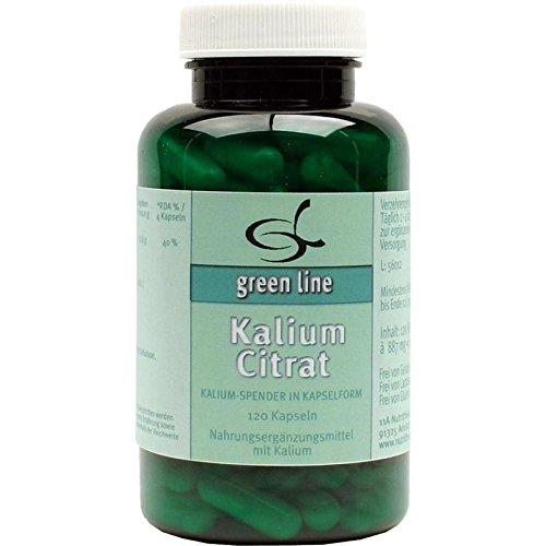 green line Nutritheke Kalium Citrat, 120 St. Kapseln - Citrat 120 Kapseln