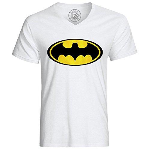 T-Shirt Batman Logo Yellow