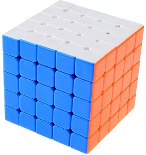 AZI 5x5 Magic High Speed Stickerless Rubik Cube (1 Pieces)  available at amazon for Rs.519
