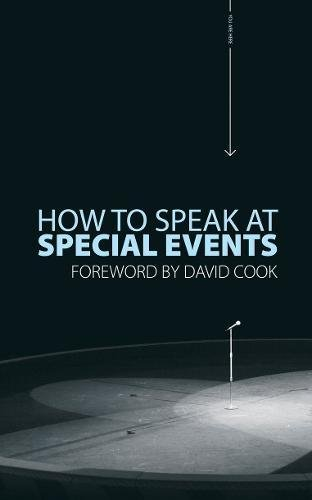How to Speak At Special Events Cover Image