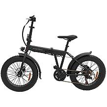 SmartGyro Ebike Monster - Bicicleta eléctrica Urbana (Fat-Bike) Plegable y con Asistente