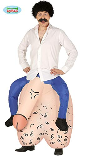 FIESTAS GUIRCA, S.L. Hoden Huckepack kostüm für Erwachsene L