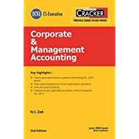 Taxmann's CRACKER-Corporate & Management Accounting (Module 2-Paper 5) (CS-Executive)(June 2020 Exam-New Syllabus)(2nd Edition 2020)