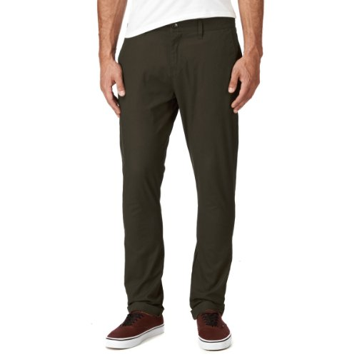 Volcom Herren Hose Frickin Tight Chino Pant Dark Brown