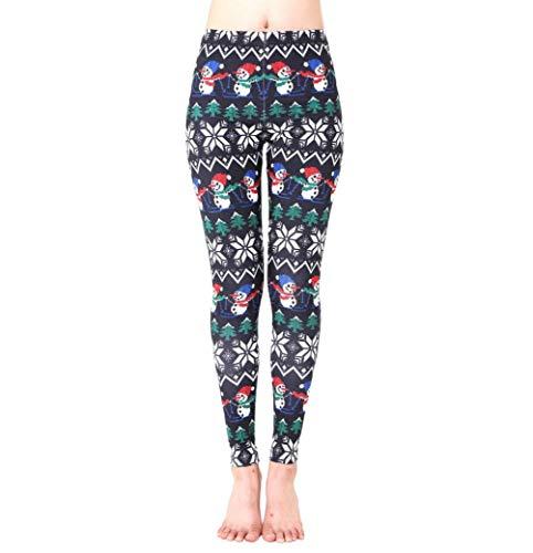 639516350b MORCHAN ❤ Femmes Sport de noël Gym Yoga Courir Fitness Leggings Pantalon  Pantalon athlétique Jeans Combinaisons