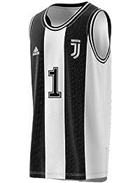 the latest 075ae 7c8e4 adidas Juve SSP, Canotta Uomo, NeroBianco, S
