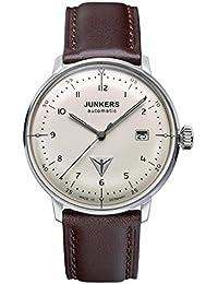 Junkers Herren-Armbanduhr Analog Automatik Leder 60565