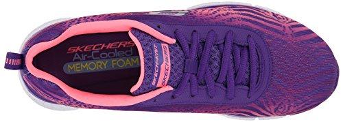 Skechers Flex Appeal Tribeca, Baskets Donna Violet / Rose