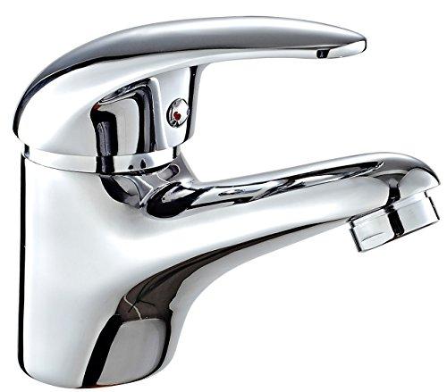 DP Grifería Naranjo – Grifo de lavabo, color plateado