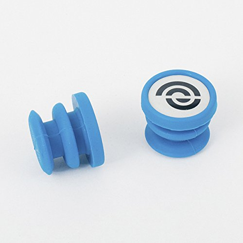 Bike Ribbon BikeRibbon Silikon End-Plugs Jelly, blau (Paar) Lenkerband, Standardgröße Preisvergleich