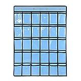 Deesee (TM) - Sac de rangement pour 30 bijoux de téléphone portable - Pour porte et...