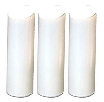 3x replacement filter cartridges for slim in line shower water filter large. Black Bedroom Furniture Sets. Home Design Ideas